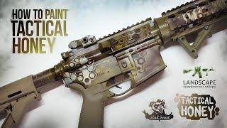 Покраска оружия в Tactical Honey / How to paint Tactical Honey (English subtitles)