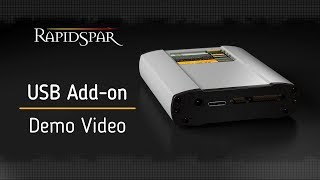 RapidSpar USB Add-on Demo