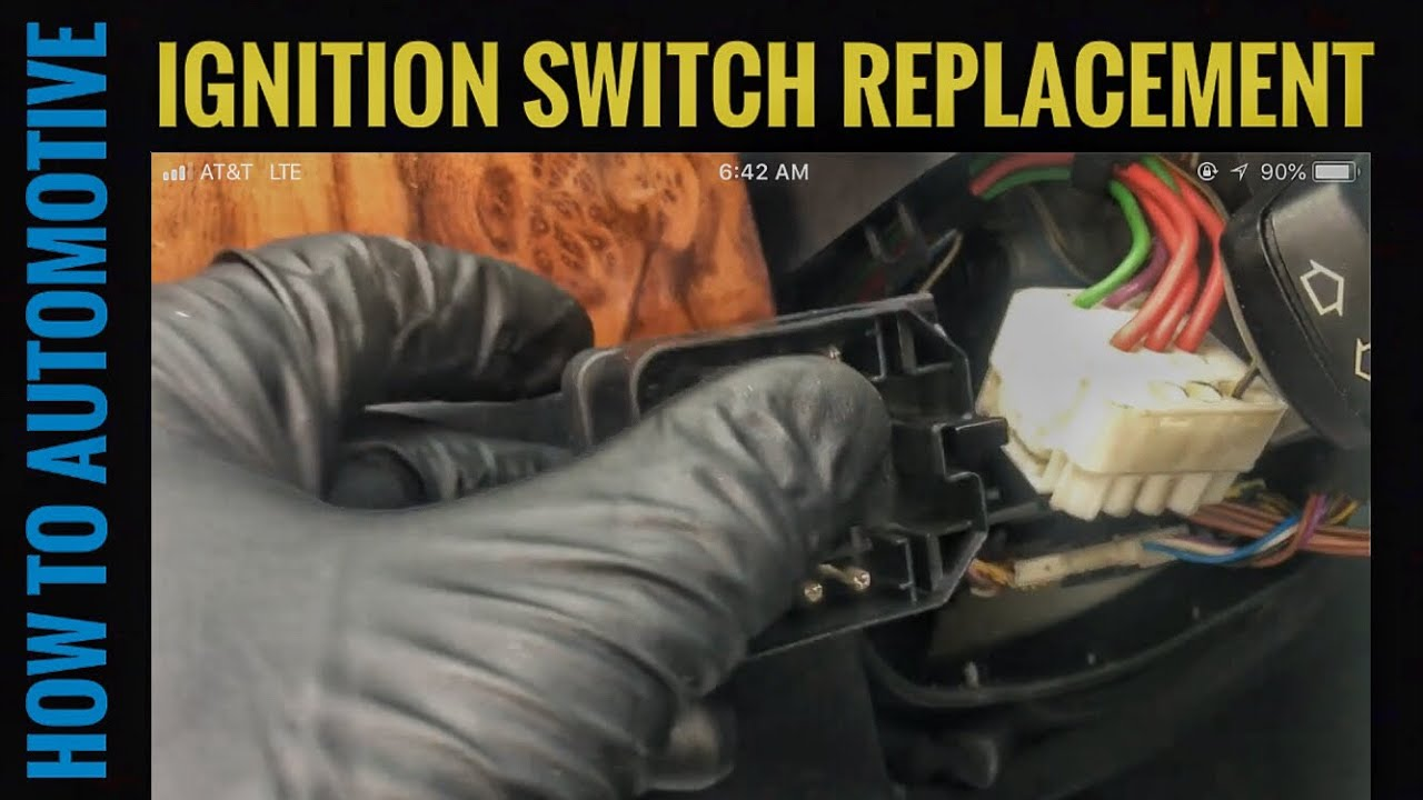 how to replace the ignition switch on a e39 bmw 5 series [ 1280 x 720 Pixel ]