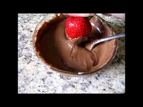 how to make chocolate covered strawberries youtube