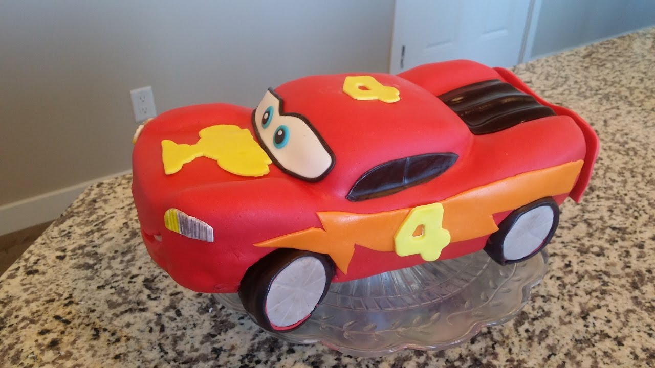 Bolo Carros Disney Relampago Macquem Escultura Facil De Carro Youtube