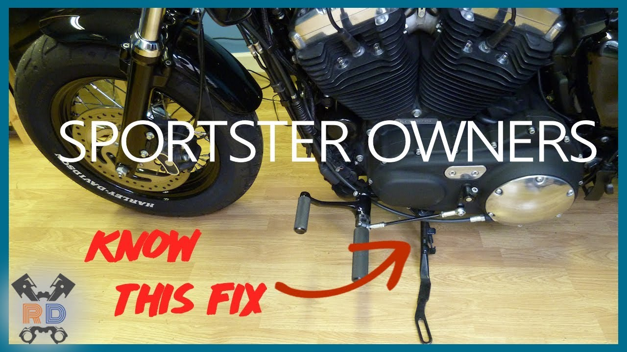 How To  Sportster Side Stand Engine Cut Out Issue Fix