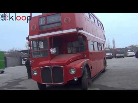 Единственный двухэтажный автобус в Средней Азии
