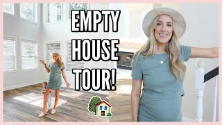 EMPTY HOUSE TOUR! OUR NEW HOME FOR A FAMILY OF 4 | OLIVIA ZAPO