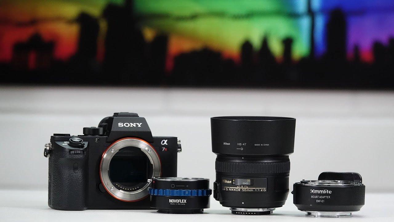 UPDATE Nikon Objektive mit Autofokus an Sony Systemkameras verwenden ...