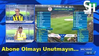 Ç.Rizespor 3-0 Fenerbahçe Maçı CANLI Anlatım | fb tv