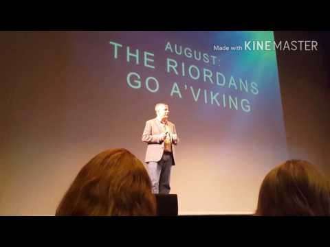 "Rick Riordan ""The Hammer Of Thor"" Book Tour (2016) - Minnesota"