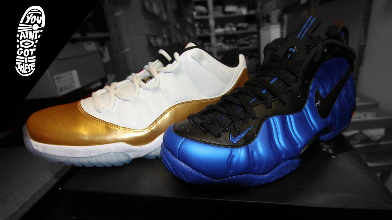 d9841ab24c3 YOU AINT GOT THESE  Hyper Cobalt Foams + Closing Ceremony Jordan 11 Lows