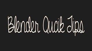 Blender quick tip - How to import images into Blender