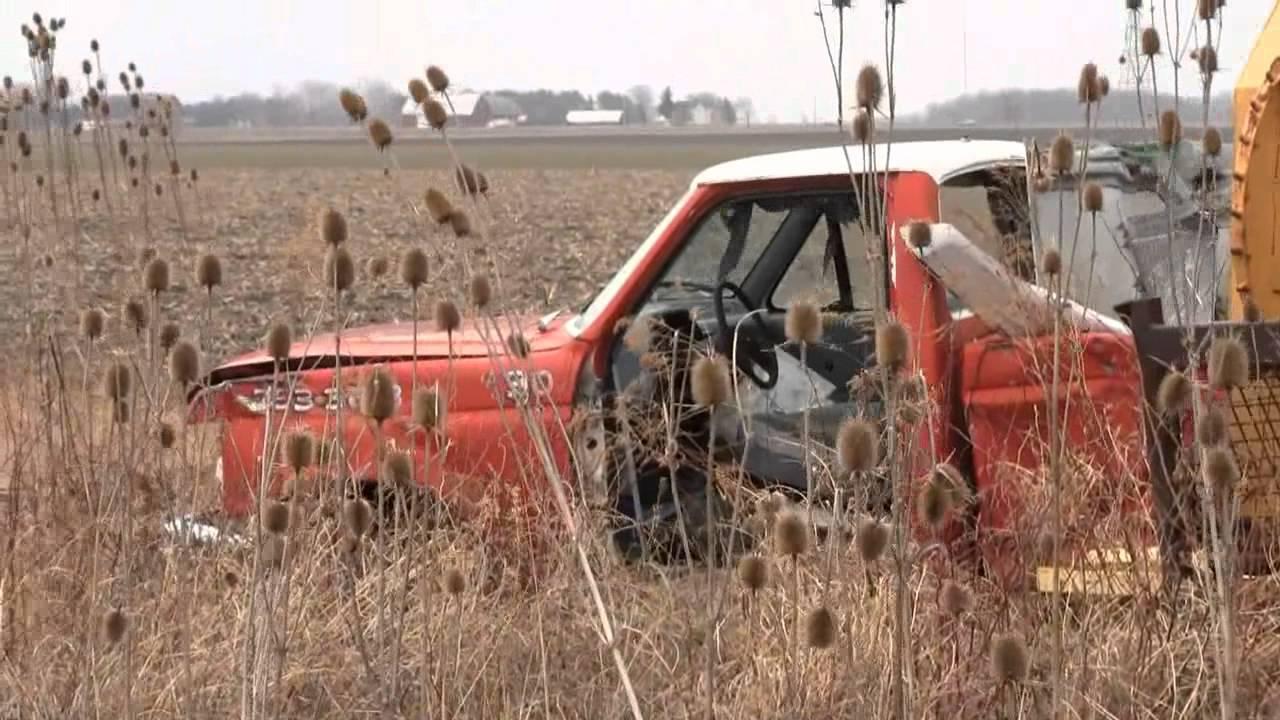 Old Truck junk yard - YouTube