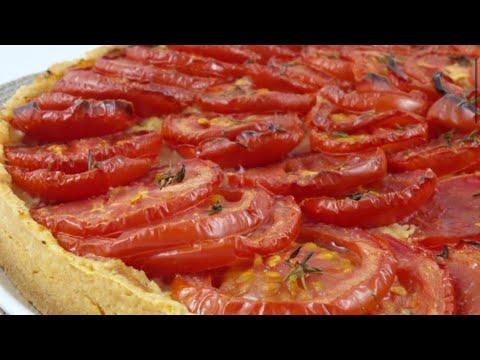 tarte-a-la-tomate-/-recette-simple-À-realiser-et-bonne