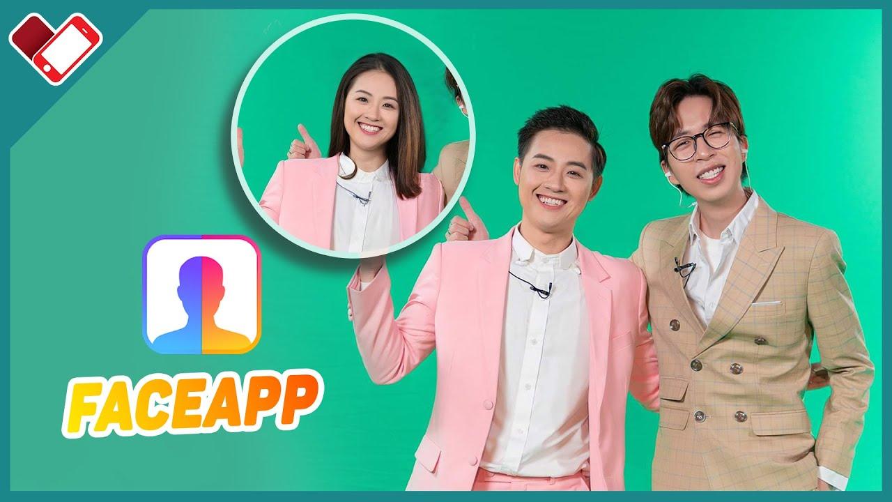 Faceapp: chuyển giới tính nam thành nữ nữ thành nam | Mê Smartphone