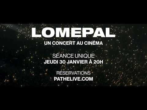 Youtube: Bande annonce«Lomepal, un concert au cinéma»
