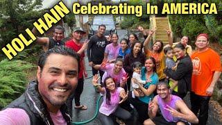 This  S How We Celebrated Holi  N America  Ndian Vlogger Holi  N USA Cinematic Hindi Vlog