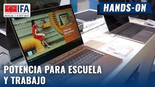 Lenovo Yoga 920, diseño y poder. Hands-on en español