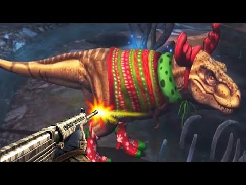 Dino Hunter Deadly Shores - TYRANNOSAURUS REX Reindeer!!