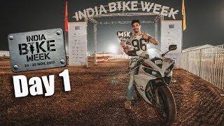 IBW Goa 2017 | Day 1 | India Bike Week | Drone shots