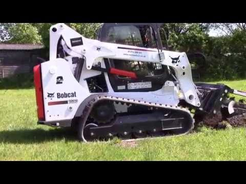 Fibre Optic Cable Installation with Bobcat Trencher - Networx3