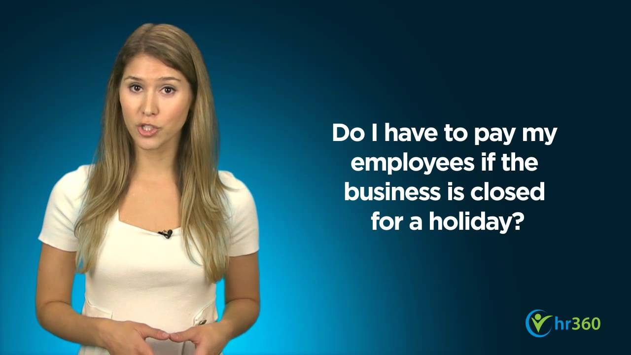 how to count holiday pay