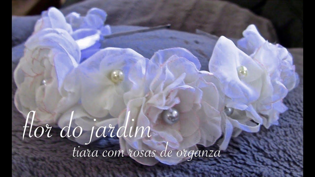 d0094641e5e DIY - Rosas de organza - organza roses