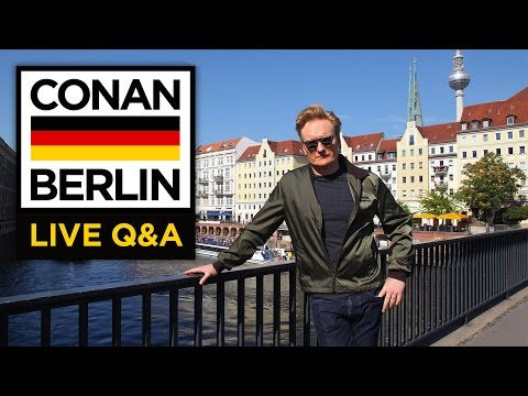 LIVE YouTube Q&A: Conan Berlin