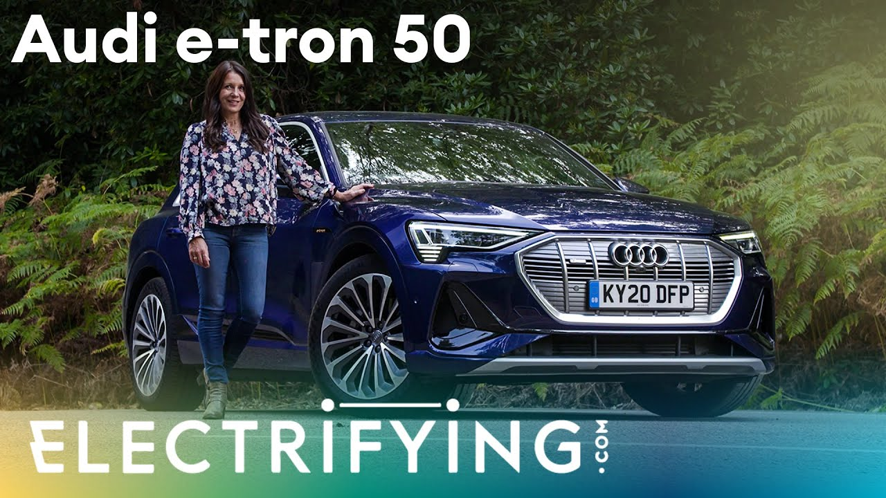 What's the point of the Audi e-tron 50 SUV?  In-depth 2021 review with Ginny Buckley / Electrifying