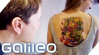 Selbstexperiement: Das 10-Tage-Tattoo | Galileo | ProSieben