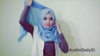 Tutorial Hijab Simple Untuk Kuliah, Kampus & Sehari Hari