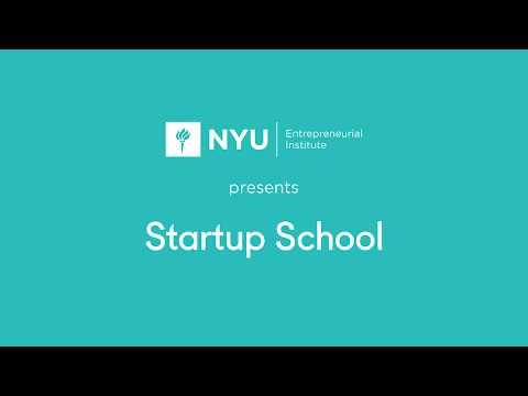 NYU Startup School: 3D Printing for Entrepreneurs