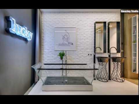 Transparent Badewanne und