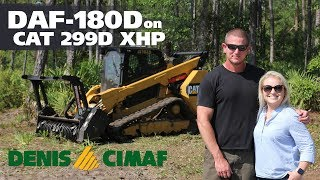 CAT299D and DAF-180D - The ultimate brushcutter/mulcher for Southeast USA