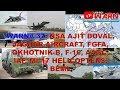 WARN# 37: NSA AJIT DOVAL, JAGUAR AIRCRAFT, FGFA, OKHOTNIK-B, F-16, AAGC, IAF, MI-17 HELICOPTER, BEML