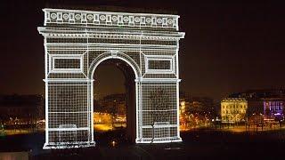 Nouvel An 2015 sur les Champs Elysées