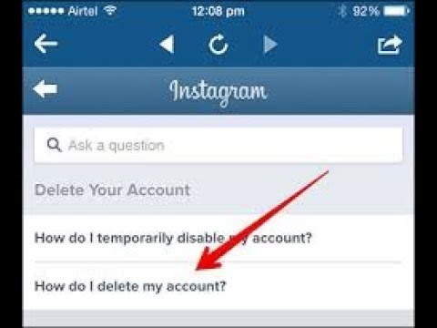 How to deactivate my instagram account youtube how to deactivate my instagram account ccuart Image collections