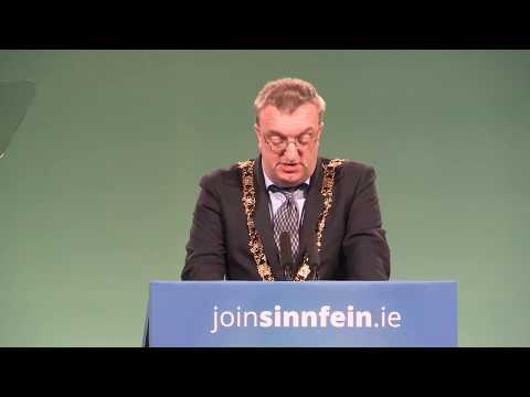 Dublin Ard Mhéara opens Sinn Féin Ard Fheis