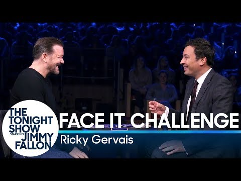Face It Challenge with Ricky Gervais