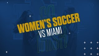 @NDSoccer | Highlights vs. Miami (2019)