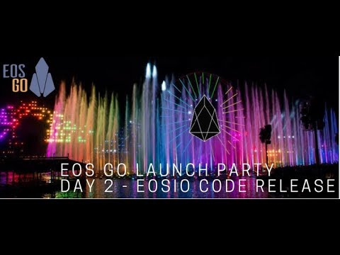 EOS Go Launch Party - Day 2 - EOSIO 1.0 Code Release Day