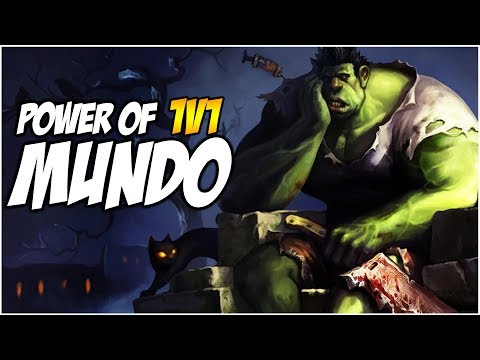 POWER OF 1V1 Dr MUNDO | League of Legends
