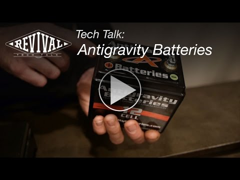 Antigravity Lithium Batteries - Revival Cycles Tech Talk