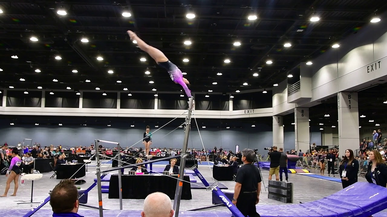 Future Ncaa Gymnasts Compete At Jo Nationals College Gym News