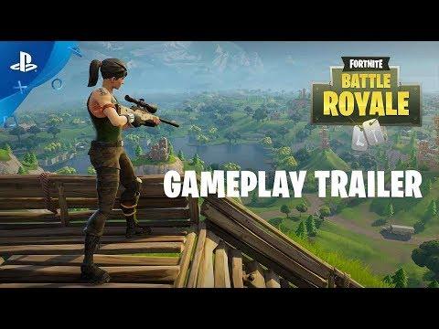 Fortnite Battle Royale - Gameplay Trailer | PS4
