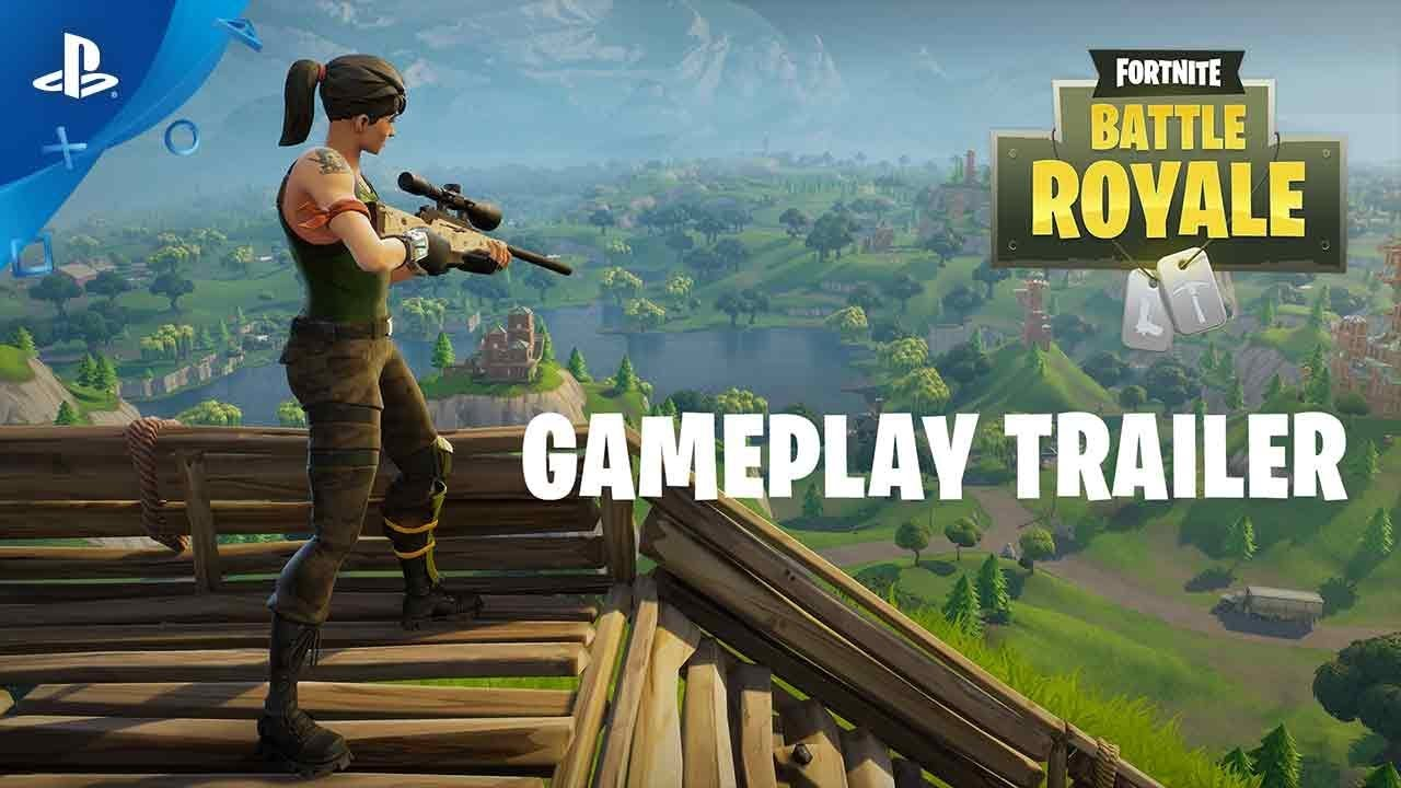 Fortnite Battle Royale Gameplay Trailer Ps