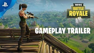 Fortnite Battle Royale - Gameplay Trailer | PS4