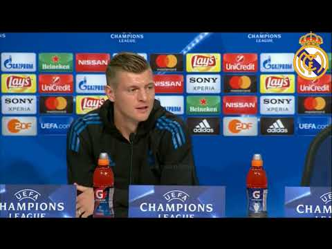 Bayern Múnich vs Real Madrid | Toni Kroos Press Conference Pre-Match | 24/04/2018 Champions League