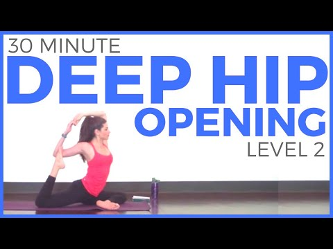 30 Minute Deep Hip Opening Yoga Practice