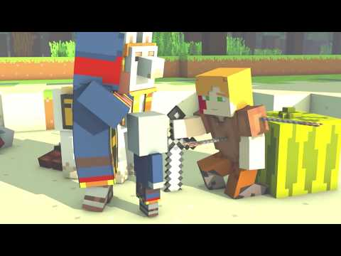 Villager & Pillager #6: Ft Steve X Alex | Minecraft Animation