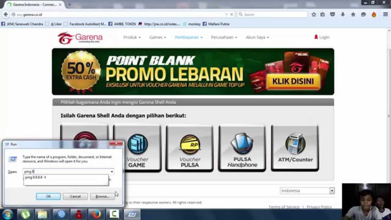 Trick Gamers Cara Isi Cash Pb Garena Indonesia Dengan Pulsa Bareng Irwan By Trick Gamers
