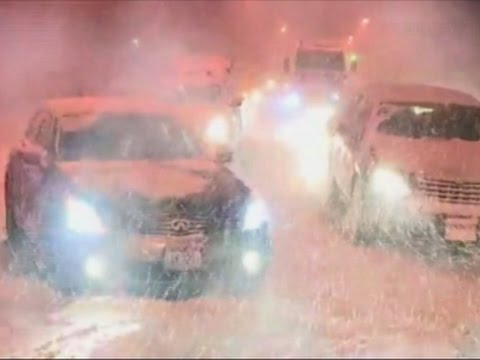 Raw: Severe Weather Hits Great Lakes Region