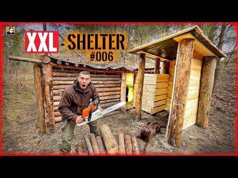 NOCH GRÖßER! Neuer RAUM für den Shelter + FLUCHTTUNNEL | XXL SHELTER bauen #006 | Survival Mattin